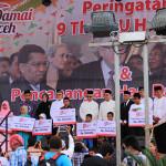 Sumbangan buat anak yatim di 9 tahun Damai Aceh (Foto M Iqbal-SeputarAceh.com)
