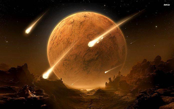 Supermoon dan Meteor Perseid. (Flikr.com)