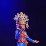 Cut Ika Liana membawakan Lagu bertemakan 'Visit Banda Aceh' (Foto M Iqbal/SeputarAceh.com)
