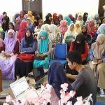Antusiasme mahasiswa dalam sosialiasi portal e-akademik (IST)