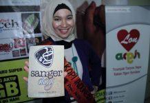 Sanger Day bersama Putri Kopi Indonesia_(Foto M Iqbal/SeputarAceh.com)