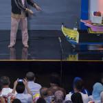 Agus PMTOH tampil di acara Mata Najwa (Foto M Iqbal/SeputarAceh.com)