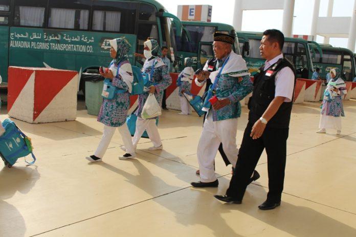 Jamaah haji di Mekkah (Foto kemenag.go.id)
