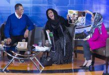 Menteri Susi tertawa melihat photo di acara Mata Najwa (Foto M Iqbal/SeputarAceh.com)