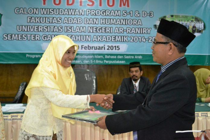 Yudisium FAH UIN Ar-Raniry (Foto IST)