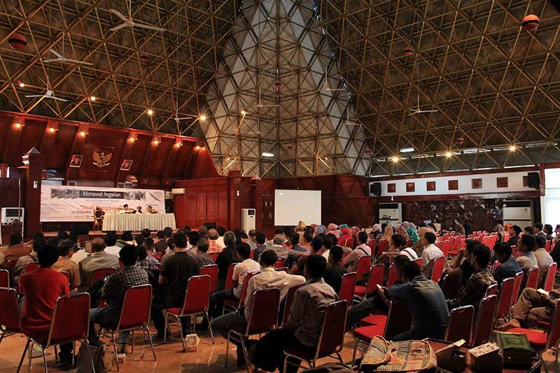 Suasan seminar sejarah 142 Tahun Perang Aceh - Belanda di gedung Anjong Monmata Banda Aceh (Foto M Iqbal/SeputarAceh.com)
