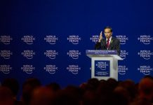 PEMBUKAAN WORLD ECONOMIC FORUM 2015 (Foto metrotvnews.com)