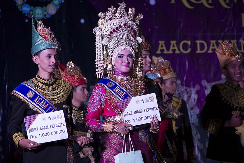 Juara favorit Agam Inong Kota Banda Aceh voting dari media sosial instagram (Foto M Iqbal/SeputarAceh.com)