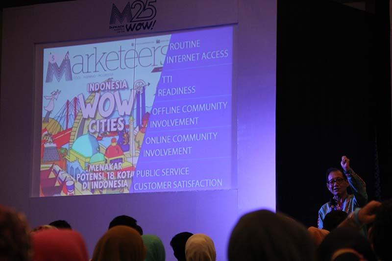 Indonesia Marketeers Festival 2015 mengangkat seputar Marketing 3.0 (Foto M Iqbal/SeputarAceh.com)