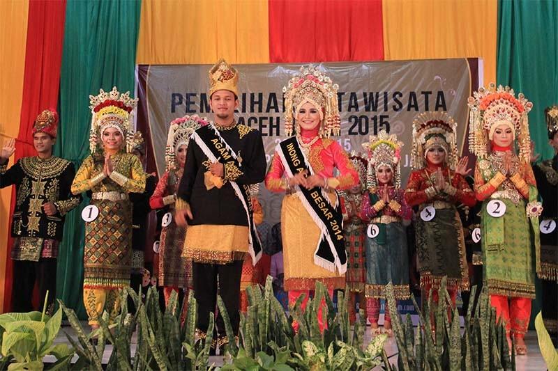 Foto Pemilihan Duta Wisata Aceh Besar 2015