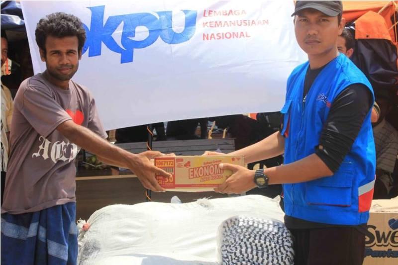 PKPU Aceh Bantu muslim Rohingya (IST)