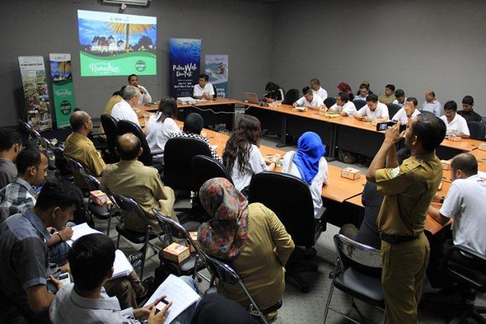 Para pelaku yang tergabung dalam asosiasi pariwisata hadir mengikuti launching Amazing Ramadhan di Aceh (Foto M Iqbal/SeputarAceh.com)