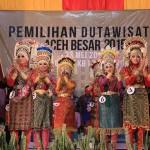 Penampilan dari para peserta Inong Duta Wisata Aceh Besar (Foto M Iqbal/SeputarAceh.com)