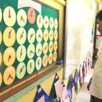 Bupati mengunjungi SDN 16 Tanah Jamo Aye sekolah mitra USAID setelah membuka pelatihan