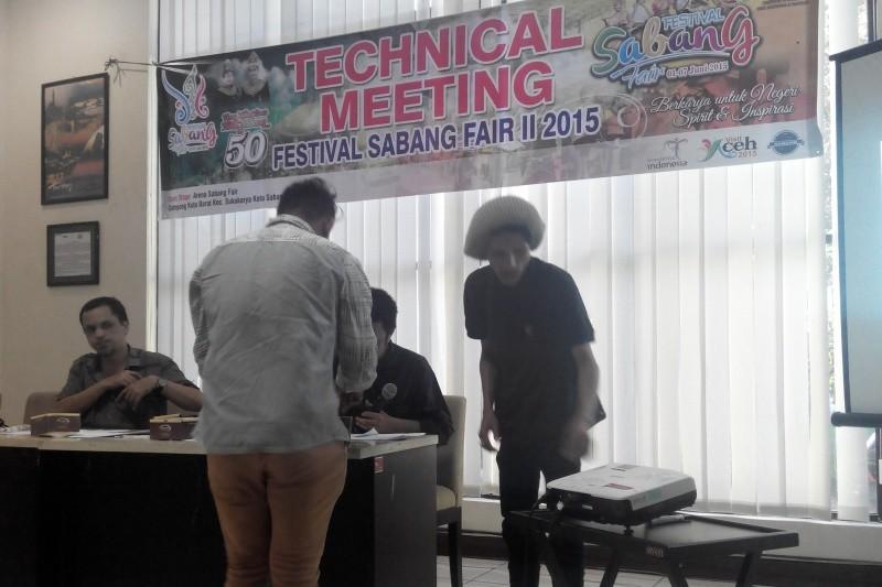 Panitia Sabang Fair Festival Gelar Technical Meeting
