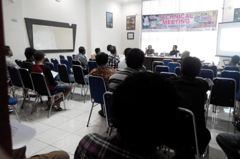 Suasana Technical Meeting persiapan FSF 2015 di Sultan II Selim Banda Aceh (Foto Zulhidayat/SeputarAceh.com)