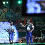 Apa Lahu dan Kuya Ali tampil di acara Festival Sabang Fair (Foto M Iqbal/SeputarAceh.com)