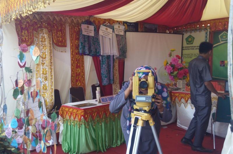 Kemenag Aceh di Pekan Kebudayaan Pidie Jaya