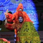 Kontingen dari Aceh Jaya tampil di panggung utama Festival Sabang Fair (Foto M Iqbal/SeputarAceh.com)