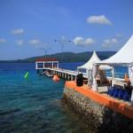 Pantai Gapang dijadikan sebagai pusat diselenggarkan acara Pulau Weh Dive Festival di Sabang (Foto M Iqbal/SeputarAceh.com)