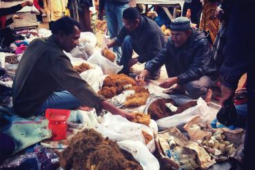 Foto Suasana Pasar Tradisional Simpang Balek