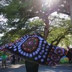 Peserta kontengen Gayo membawakan Tari Guel saat pawai acara Festival Sabang Fair (Foto M Iqbal/SeputarAceh.com)