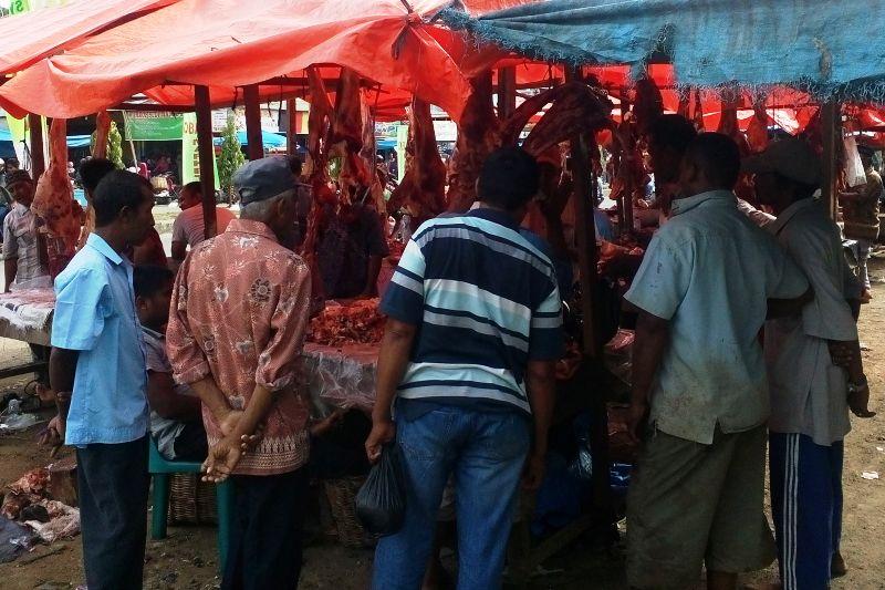 Suasana meugang di Aceh (Foto Aulia Fitri/SeputarAceh.com)