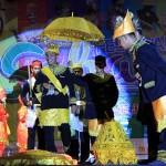 Tarian yang menampilkan Seumeuleung Raja Daya dari Aceh Jaya di lomba tarian kreasi Festival Sabang Fair (Foto M Iqbal/SeputarAceh.com)