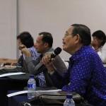 Peserta workshop menanyakan pertanyaan kepada pemateri (Foto M Iqbal/SeputarAceh.com)