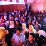 Seratusan penggemar Tompi memadati ruangan Ballroom Hermes Hotel acara konser Jazz In Town MLD Spot di Banda Aceh (Foto M Iqbal/SeputarAceh.com)