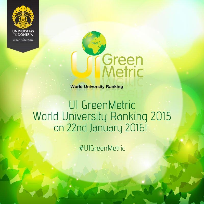 UI Green Metric 2016