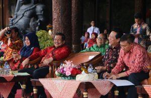 Foto Pembukaan HUT TMII ke-41 di Jakarta Timur