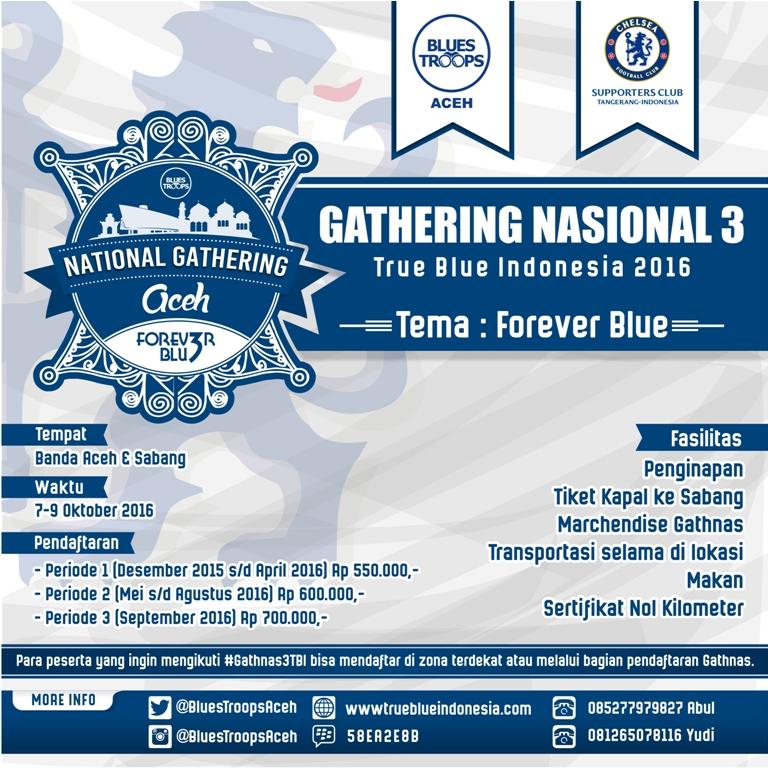 National Gathering True Blue Indonesia 2016
