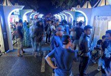Pengunjung meramaikan acara Aceh Clothing Festival 2016 di Lapangan Blang Padang, Banda Aceh (Foto M Iqbal/SeputarAceh.com)