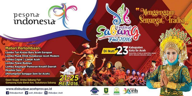 Sabang Fair Festival 2016