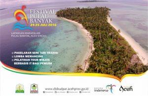 Festival Pulau Banyak 2016 di Aceh Singkil