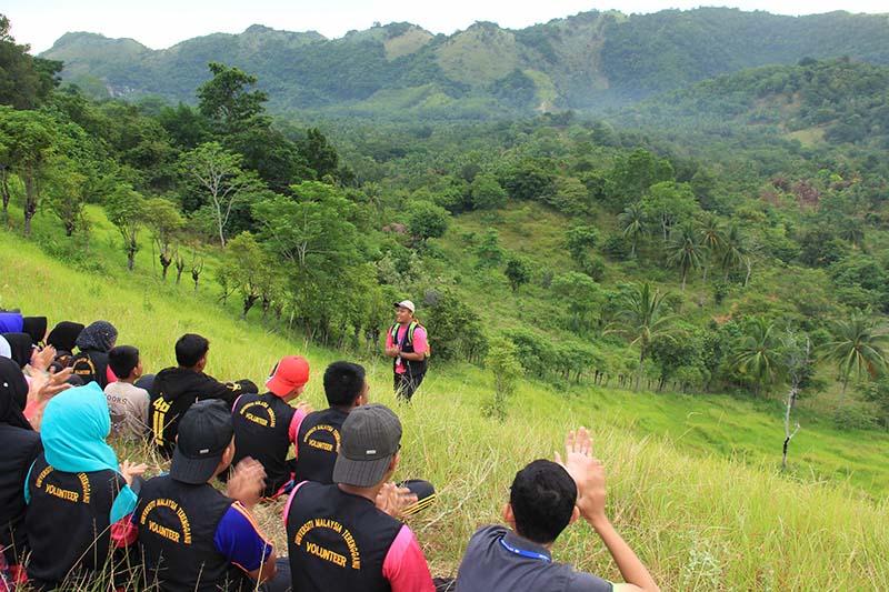 Panorama bukit yang berada di gampong Nusa, Lhoknga, Aceh Besar (Foto M Iqbal/SeputarAceh.com)