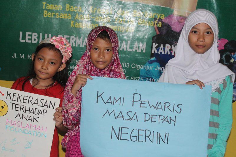 RUMBA Maslamah Foundation Deklarasikan Anti Kekerasan Terhadap Anak