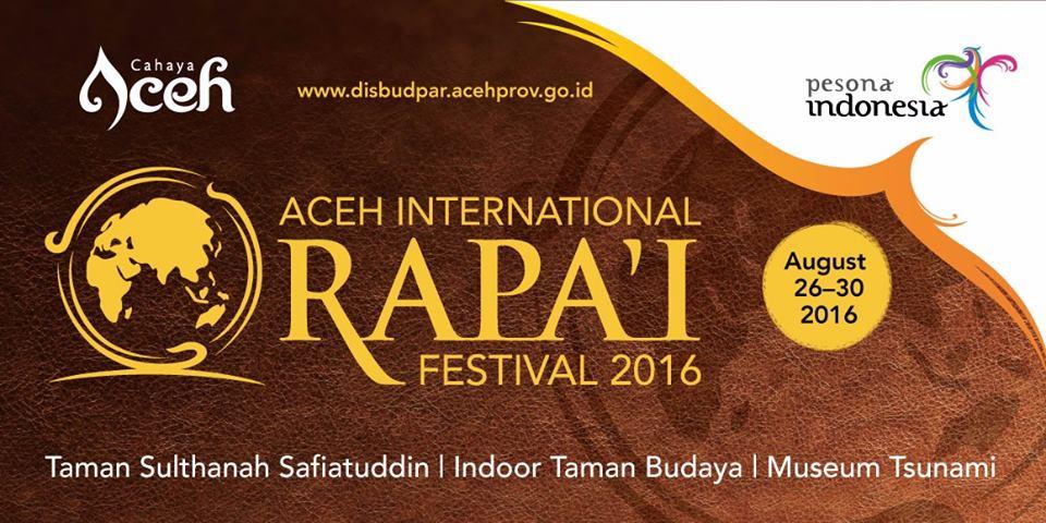 Aceh Internation Rapai Festival 2016