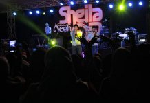 Grup musik Sheila On 7 konser di open stage Taman Budaya, Banda Aceh (Foto M Iqbal / SeputarAceh.com)