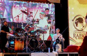 Steve Thornton di Aceh International Rapai Festival (Foto Wanda Haris Purnama)