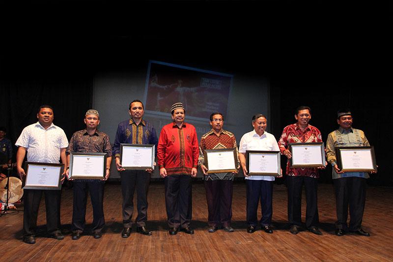 Delapan Sertifikat Warisan Tak Benda Indonesia dari Kemendikbud RI diserahkan kepada Pemerintah Aceh (Foto M Iqbal/SeputarAceh.com)