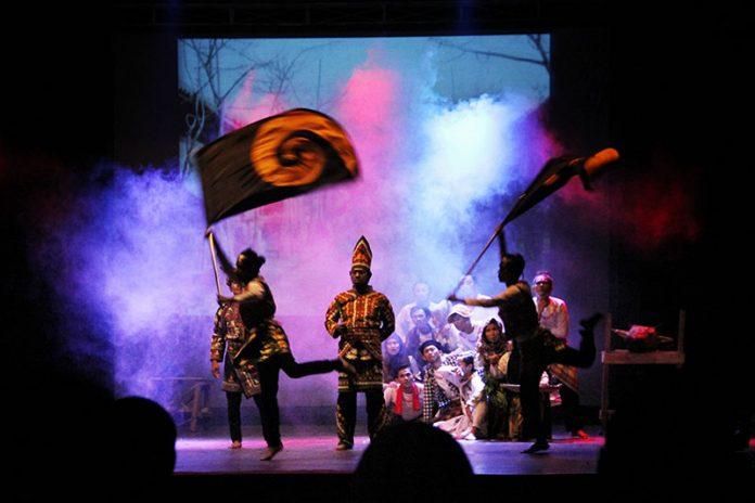 Pertunjukan teatrikal tentang Raja Linge Gayo (Foto M Iqbal/SeputarAceh.com)