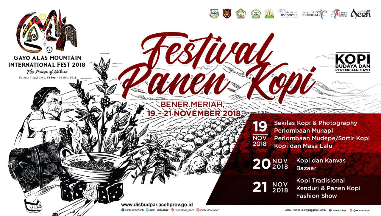 Festival Panen Kopi event GAMI Fest 2018
