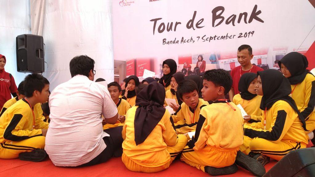Zona Kreatifitas dan Lingkungan Tour de Bank (TdB) CIMB Niaga Syariah