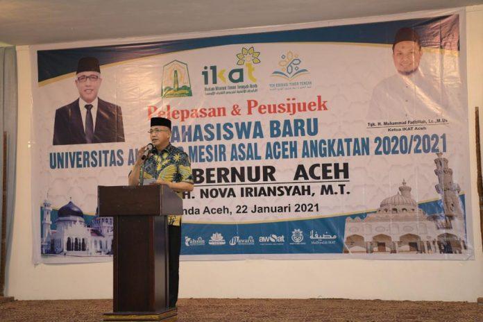 74 Calon Mahasiswa Baru Asal Aceh Belajar ke Mesir Dipeusijuk