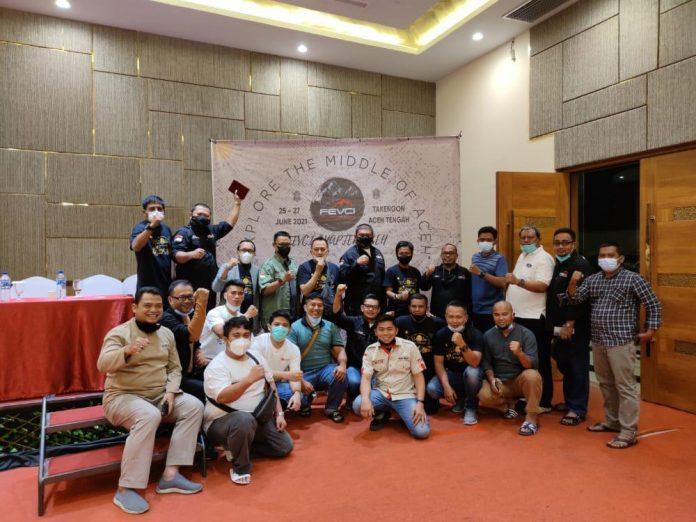 FORD Everest Club Indonesia (FEVCI) Chapter Aceh kembali menggelar touring akbar pada tanggal 25 – 27 Juni 2021, di Takengon, Aceh Tengah.